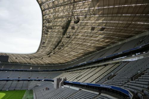 Innenansicht der Allianz Arena
