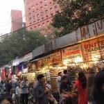 Straßenmarkt in Delhi