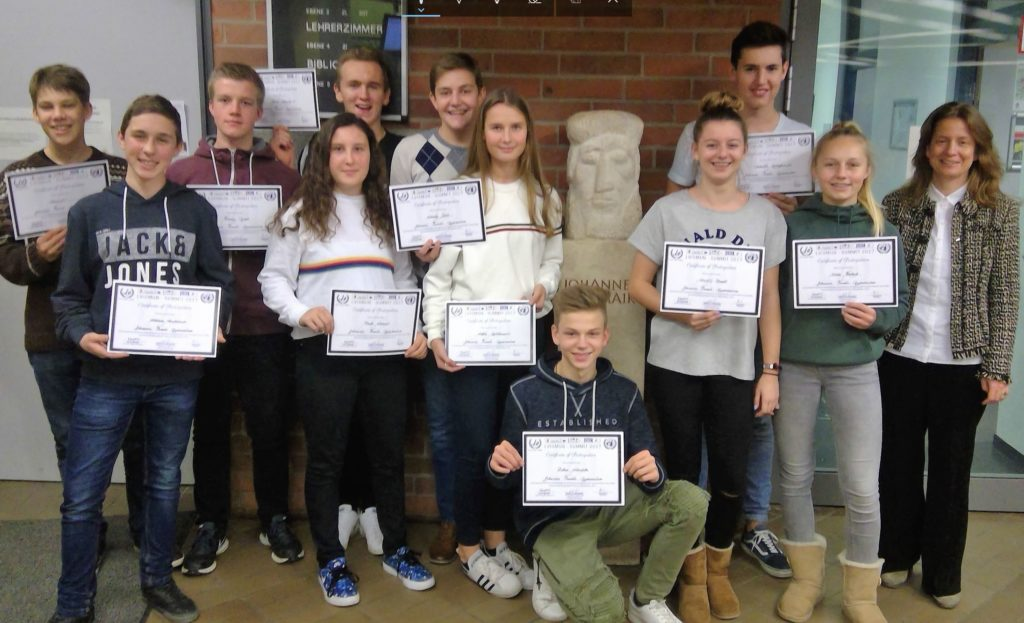 Austausch Schüler mit Zertifikaten