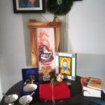 Hindu house altar
